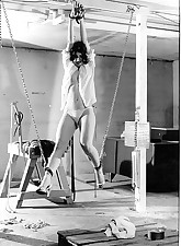 vintage chair bondage