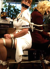 retro vintage bondage
